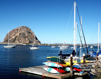 Chuck Abbe Morro Rock and Boats.jpg